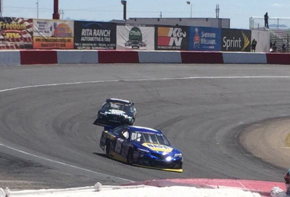 #16 NAPA Car during KNWest final practice at Tucson Speedway.jpg