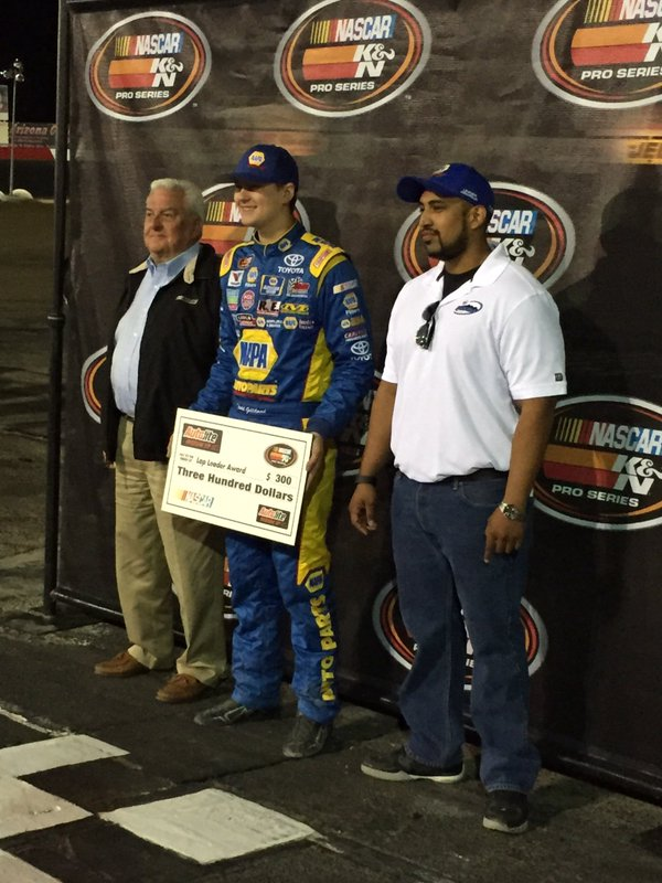 Todd receiving a Special Award during the KNWest Pre-race at Tucson Speedway.jpg
