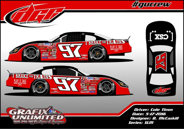 Cole Timm57 will be piloting the DGR_Racing #97 @ CSX I Brake for Trains Camry at CARSTour SLM Race this weekend.jpg