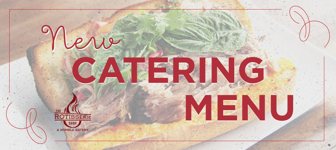 New Fall Catering Menu