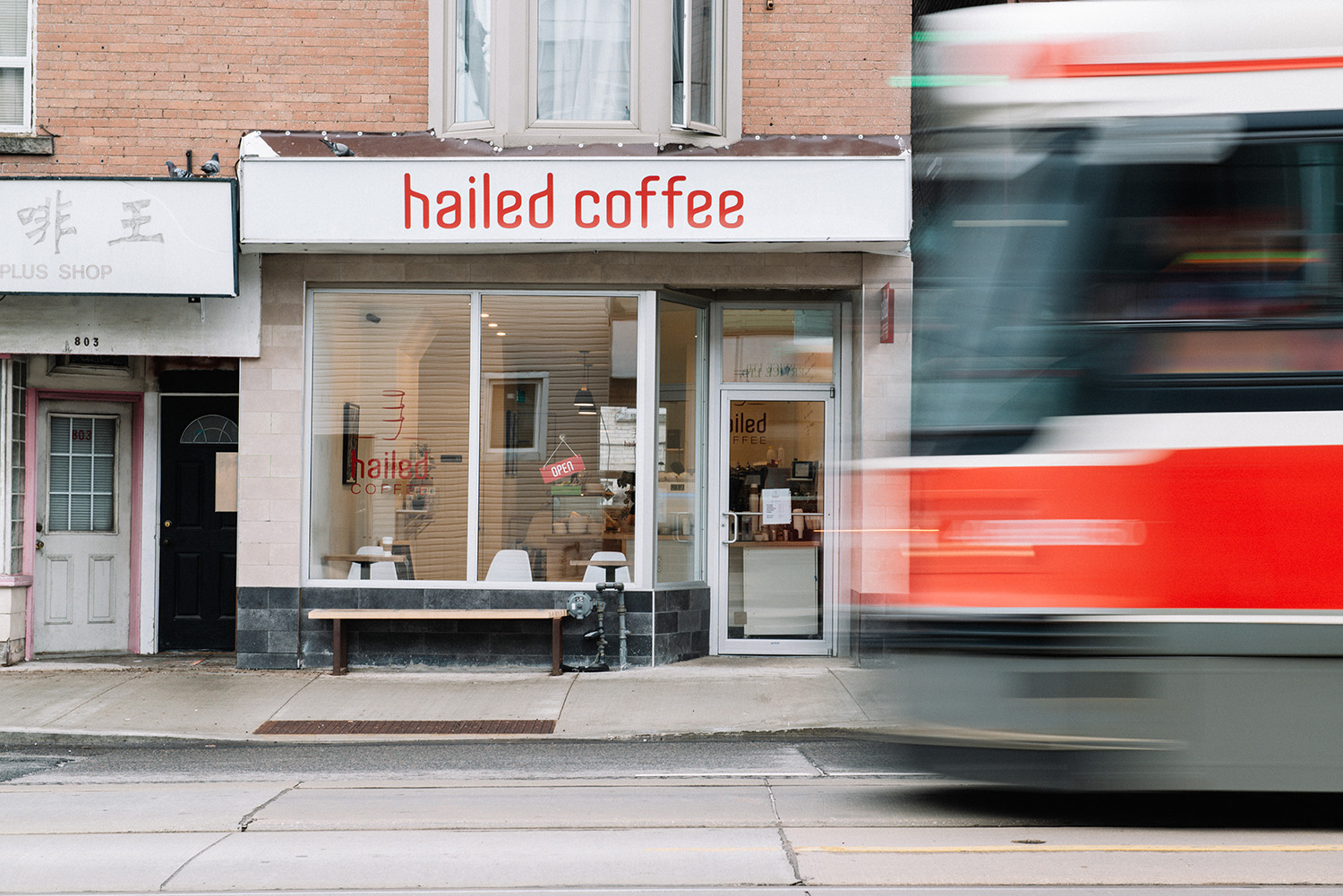 Toronto's coffee shop that specialized in Cardamom beverages