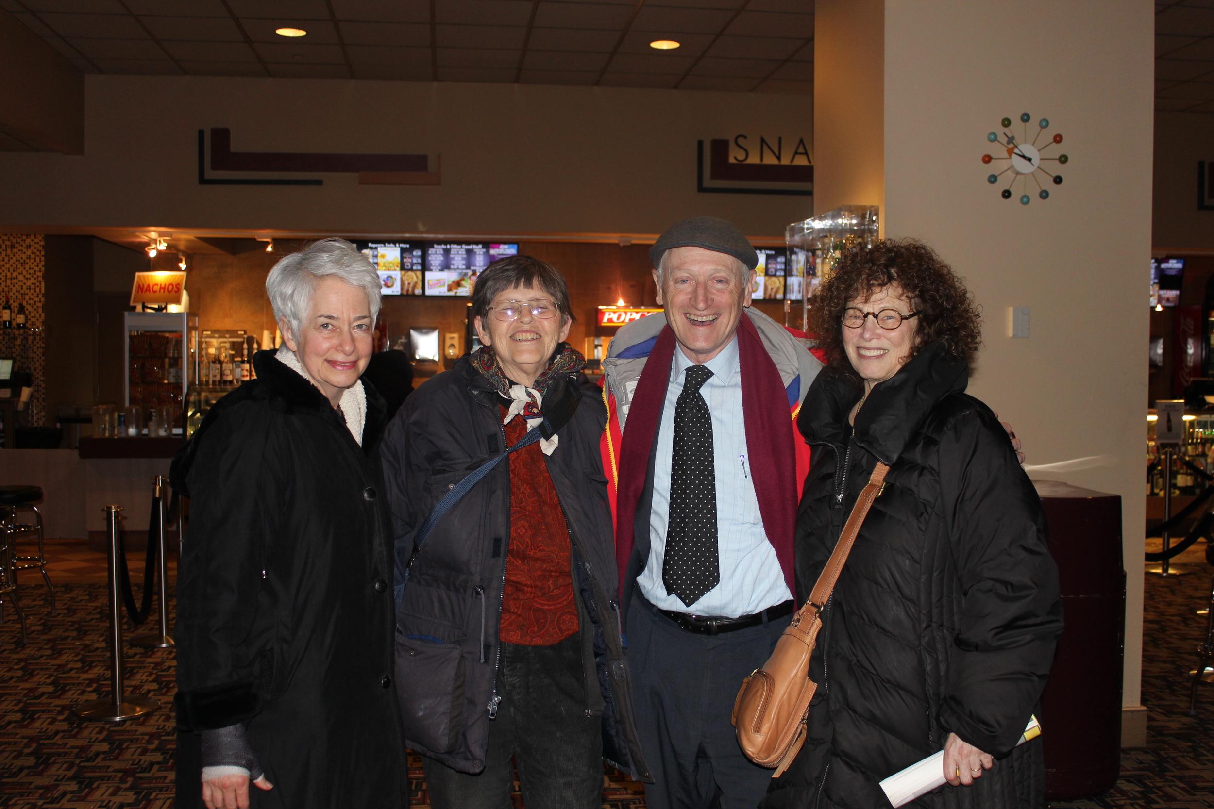 Heather Booth, Jo Freeman, Paul Booth, Marilyn Webb