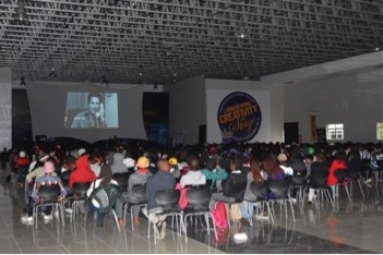 Limkokwing University class in Gaborone, Botswana.