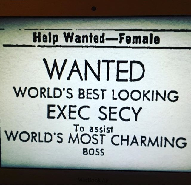 """1960s tinder"" rg @mollyoaustin  #shesbeautifulwhenshesangry #sexism #genderpaygap #equalpay"