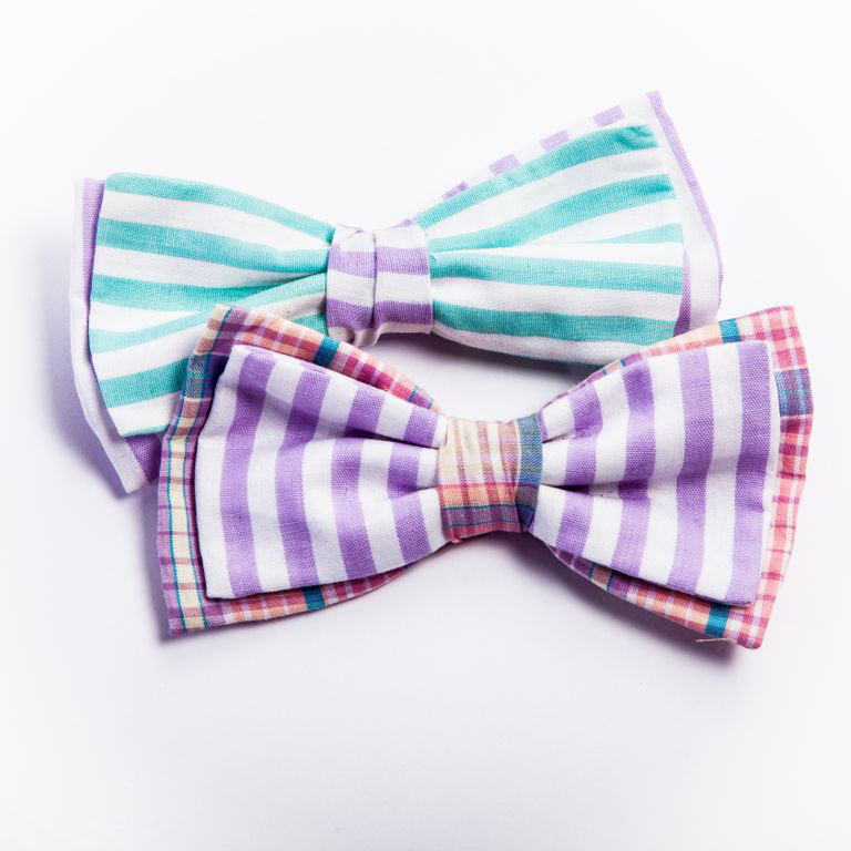 Clip-on bowties