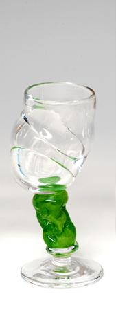 Bubblicious drammeglass grønn