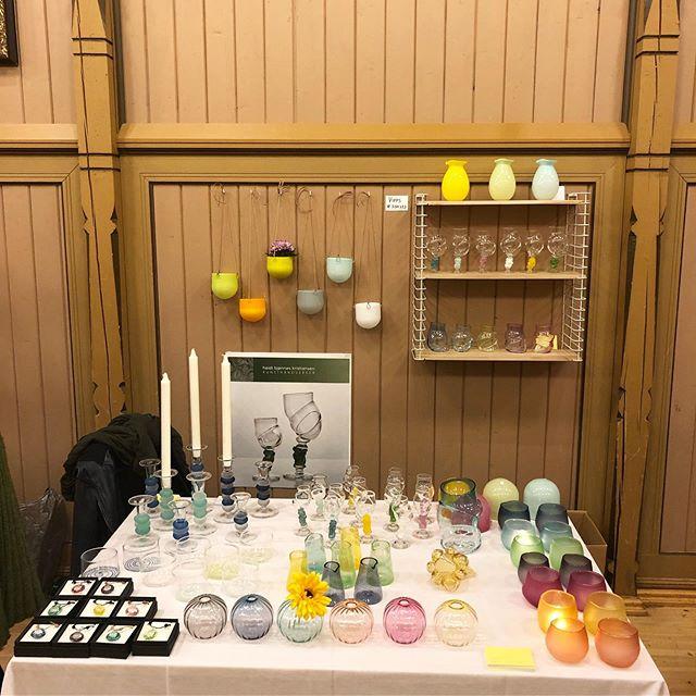 @kunstdager i Sandefjord i helga. Fine produkter og gaver for alle.