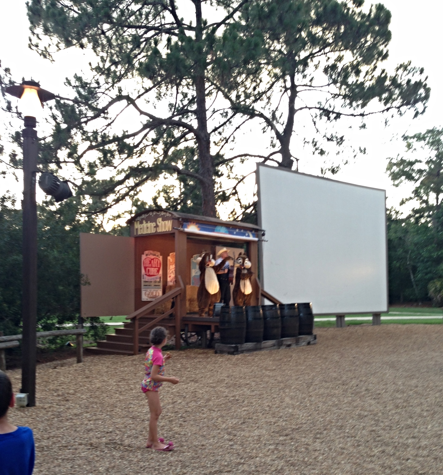 Free Campfire Sing-A-Long and movie with Chip and Dale.