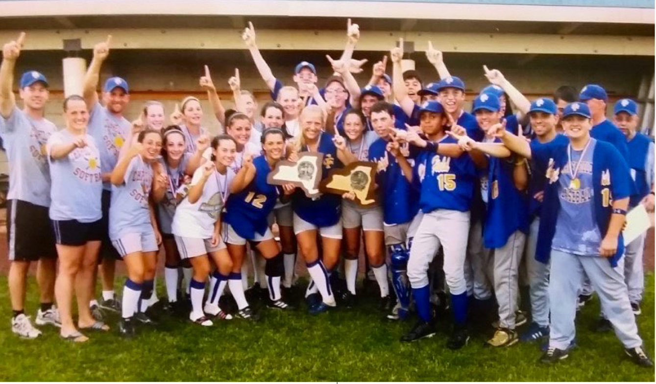 2008 Varsity Baseball and Softball State Champions