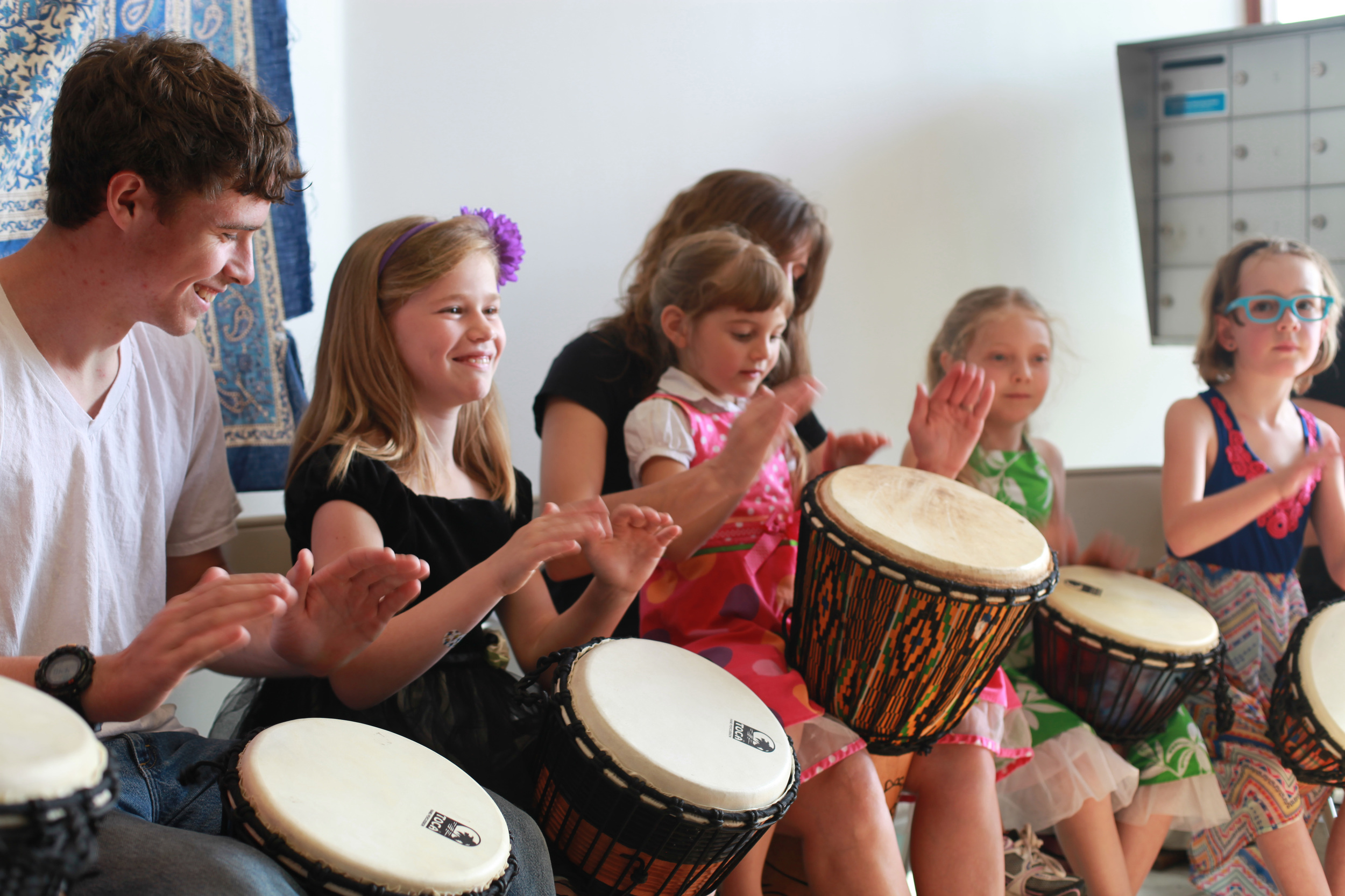 We collaborate with local area schools and organizations to provide high quality music education to the community.