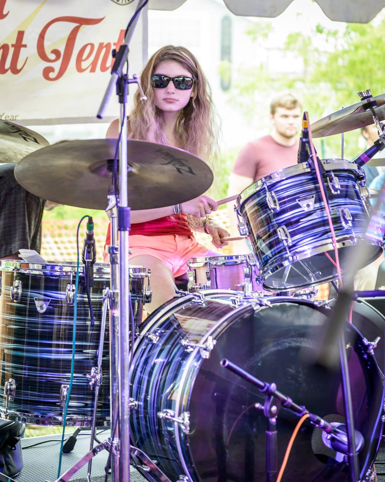 Vera at the 2017 Lobster Festival. Photo credit: Tim Sullivan