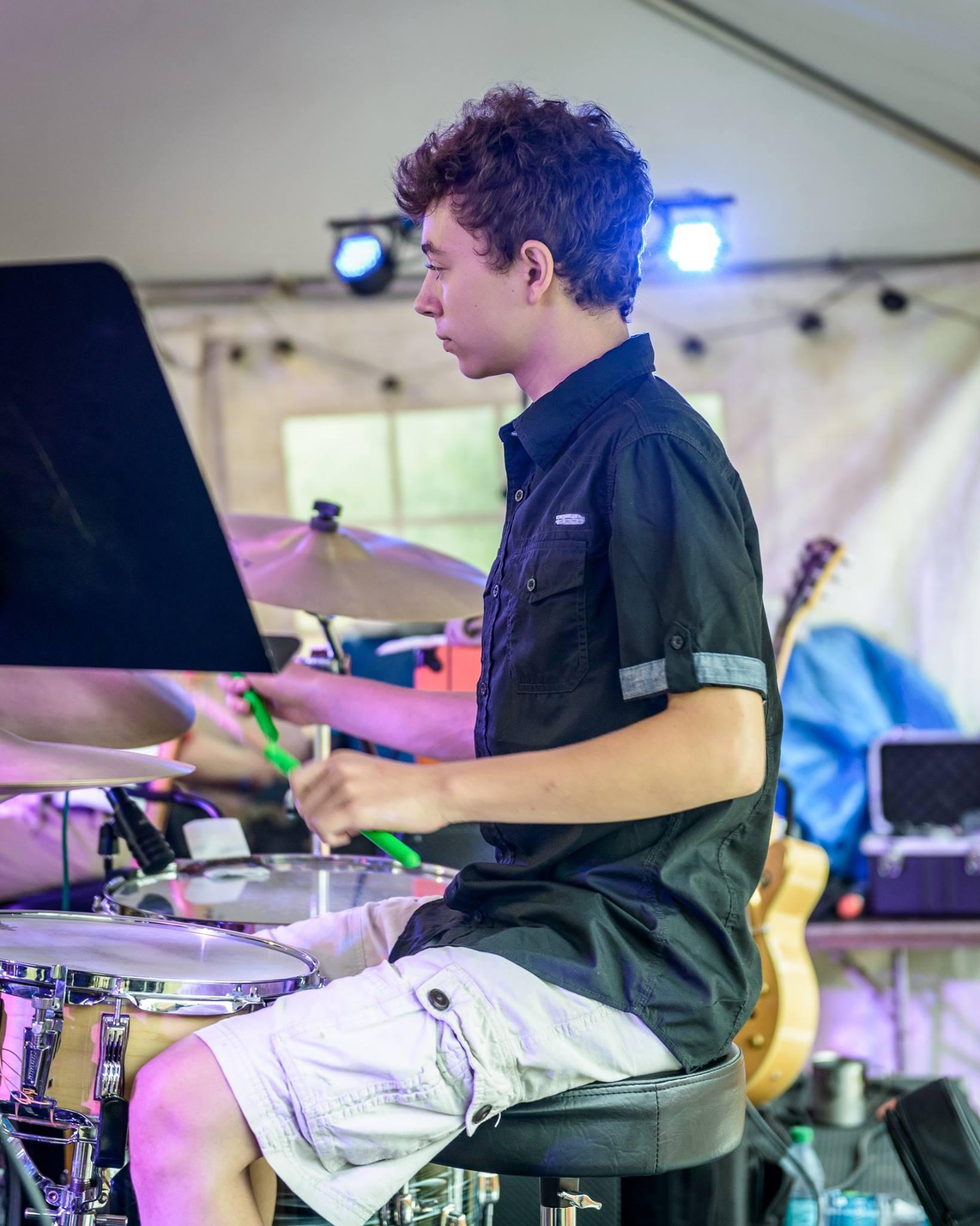 Ruben at the 2017 Lobster Festival. Photo credit: Tim Sullivan
