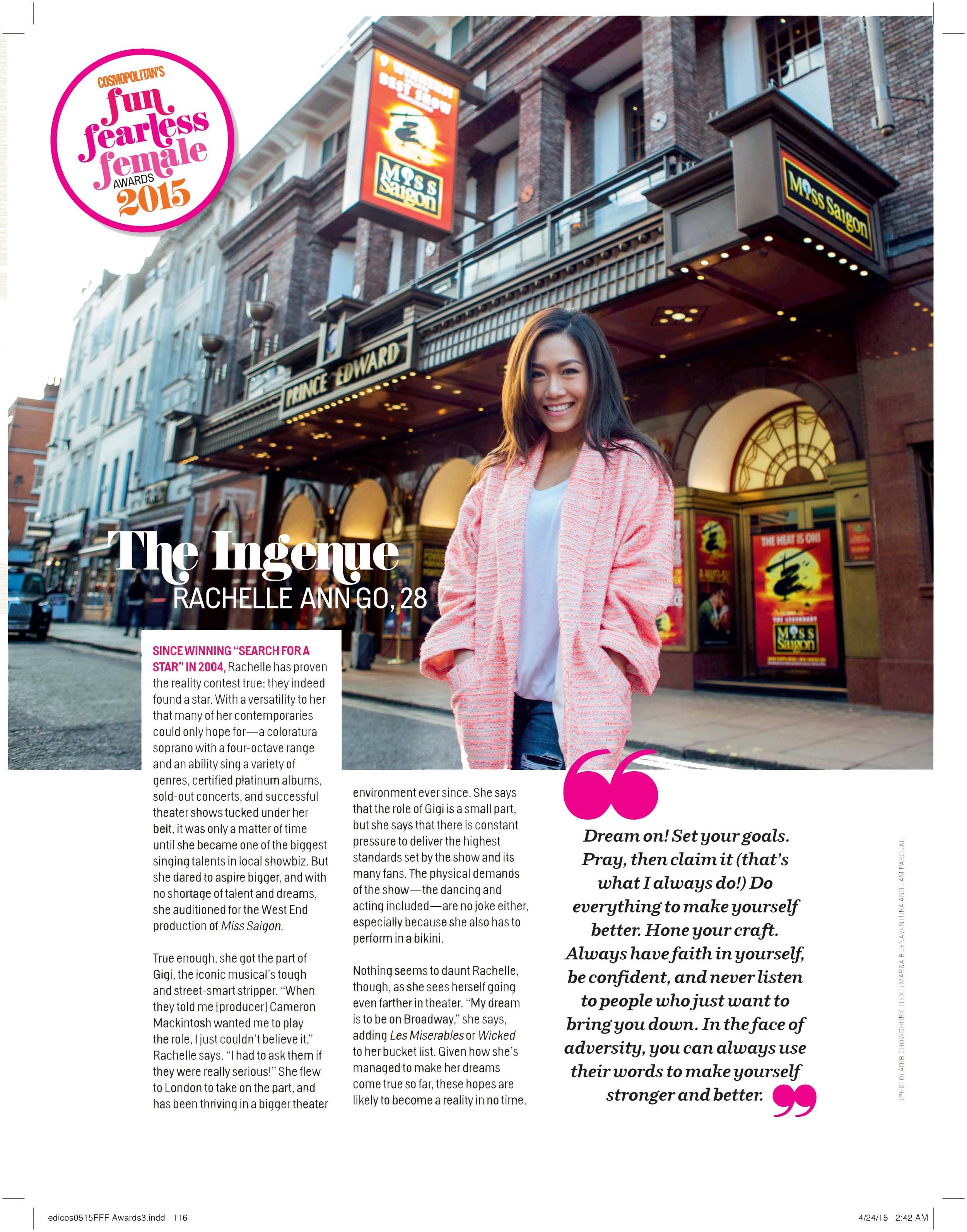 Cosmopolitan Magazine, March 2015