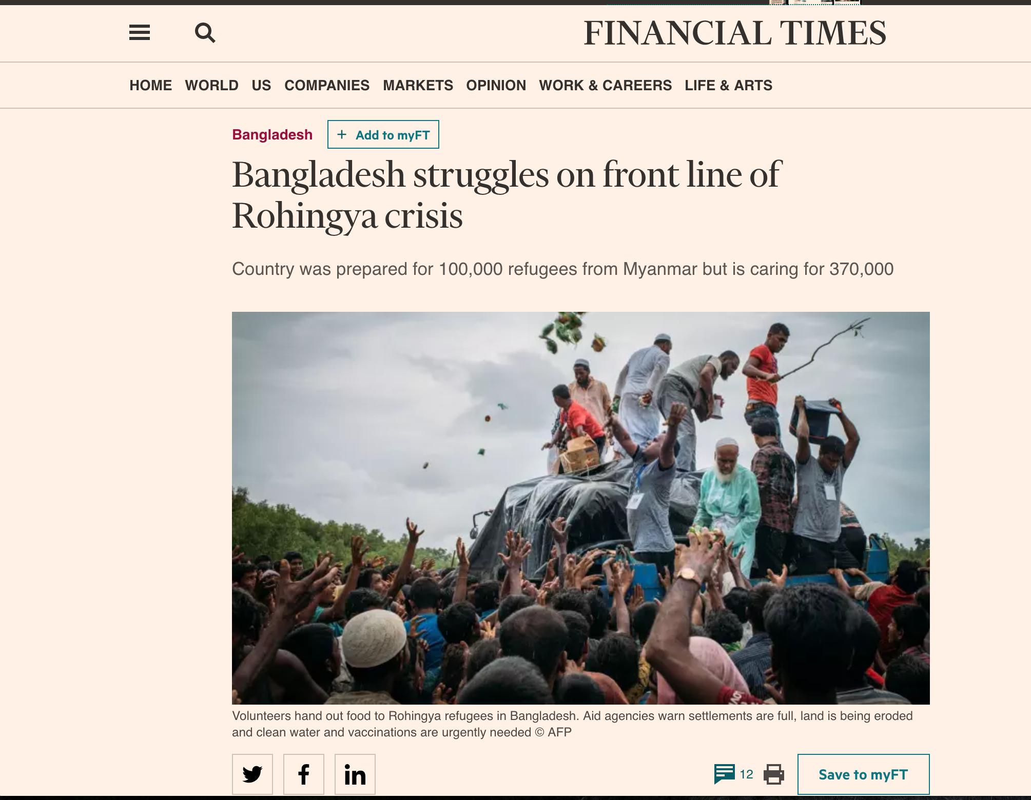 Financial Times, September 2017