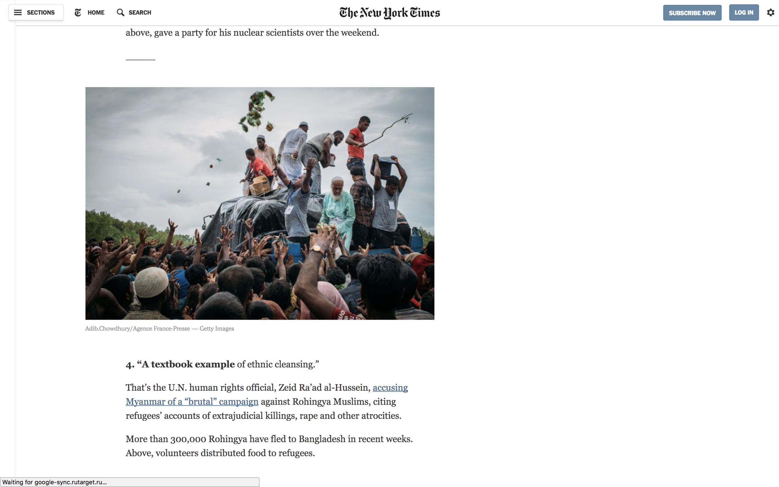 New York Times, Sept. 2017