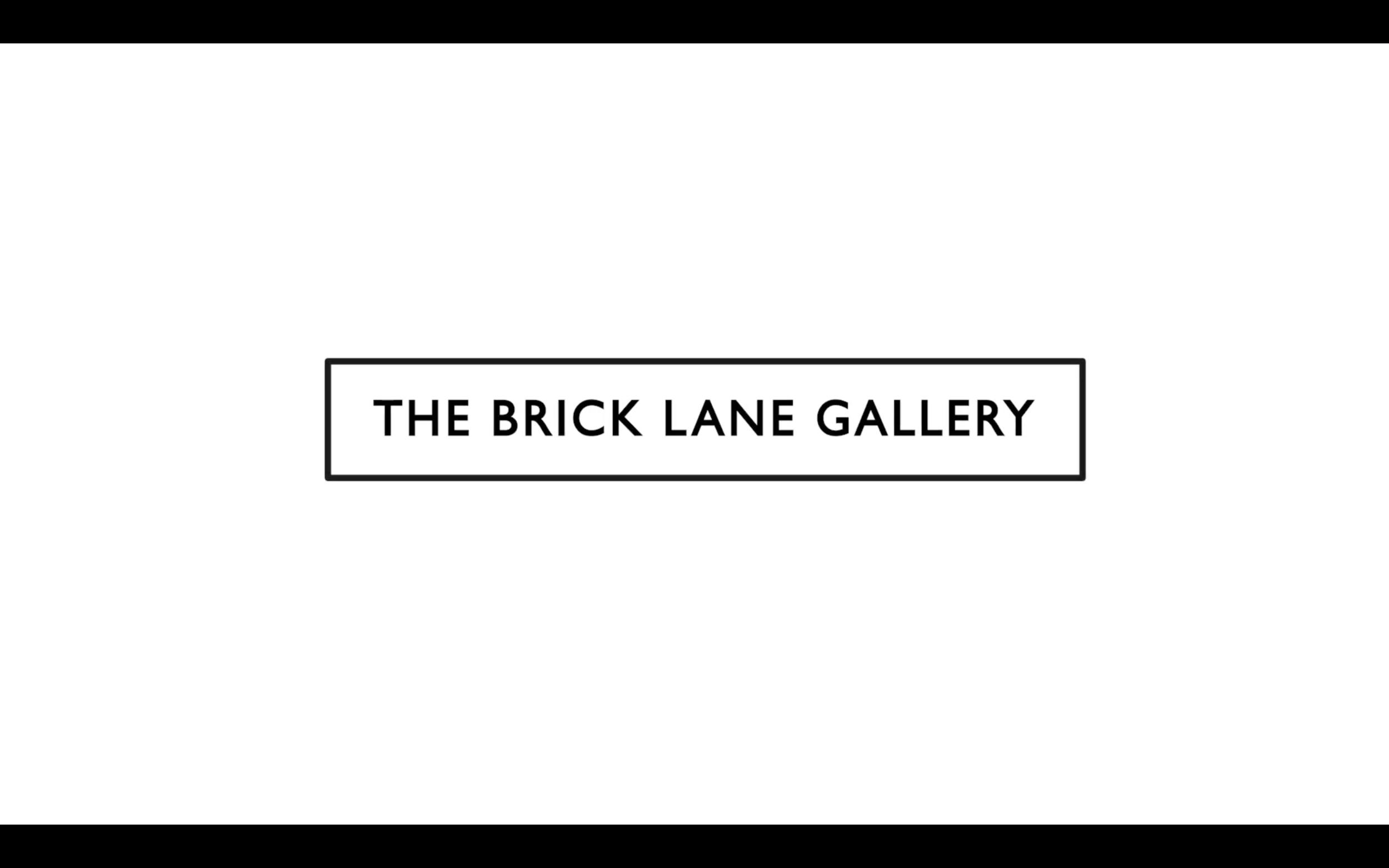 Brick Lane Gallery exhibition promo Video