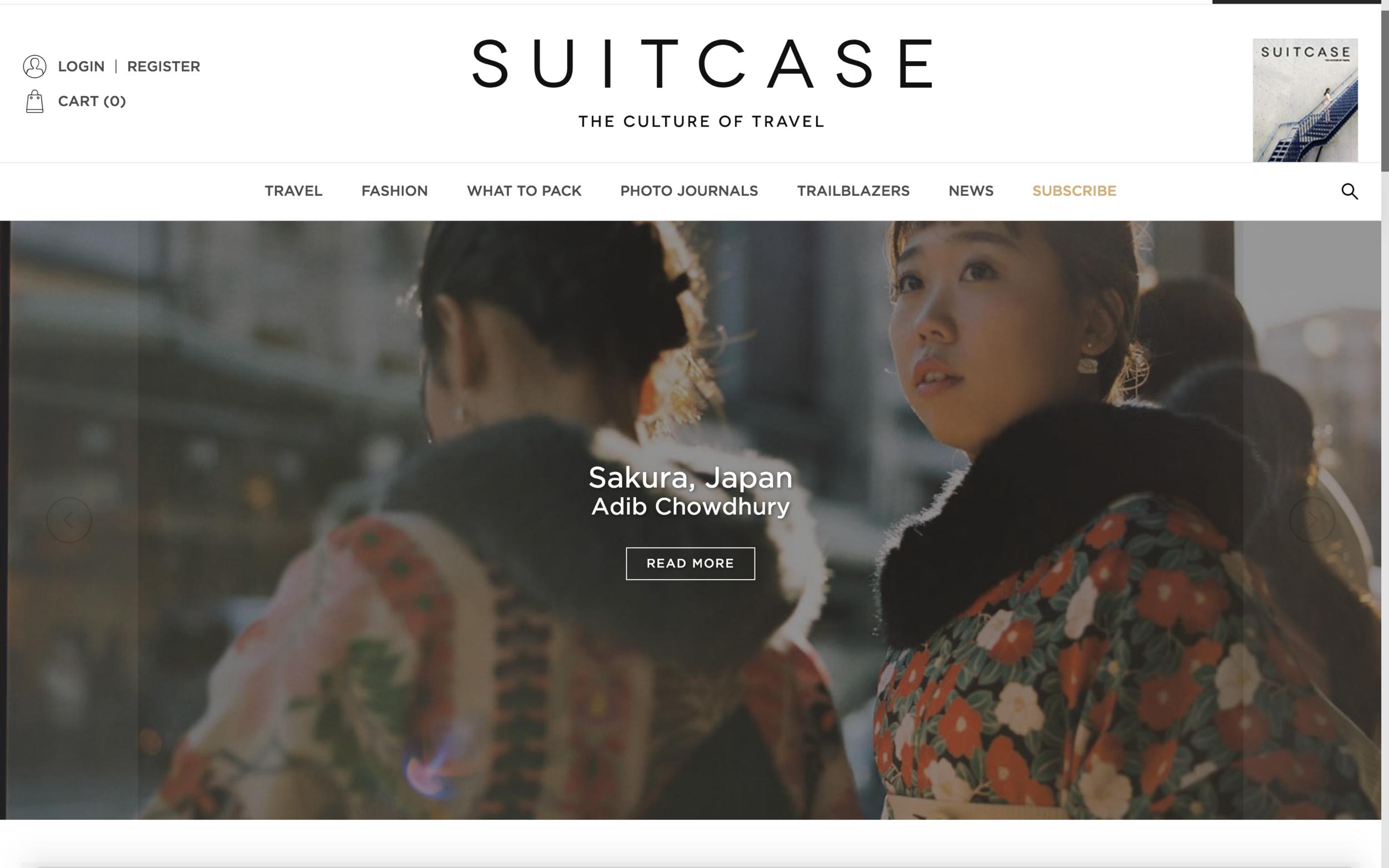SUITCASE magazine, June 2018