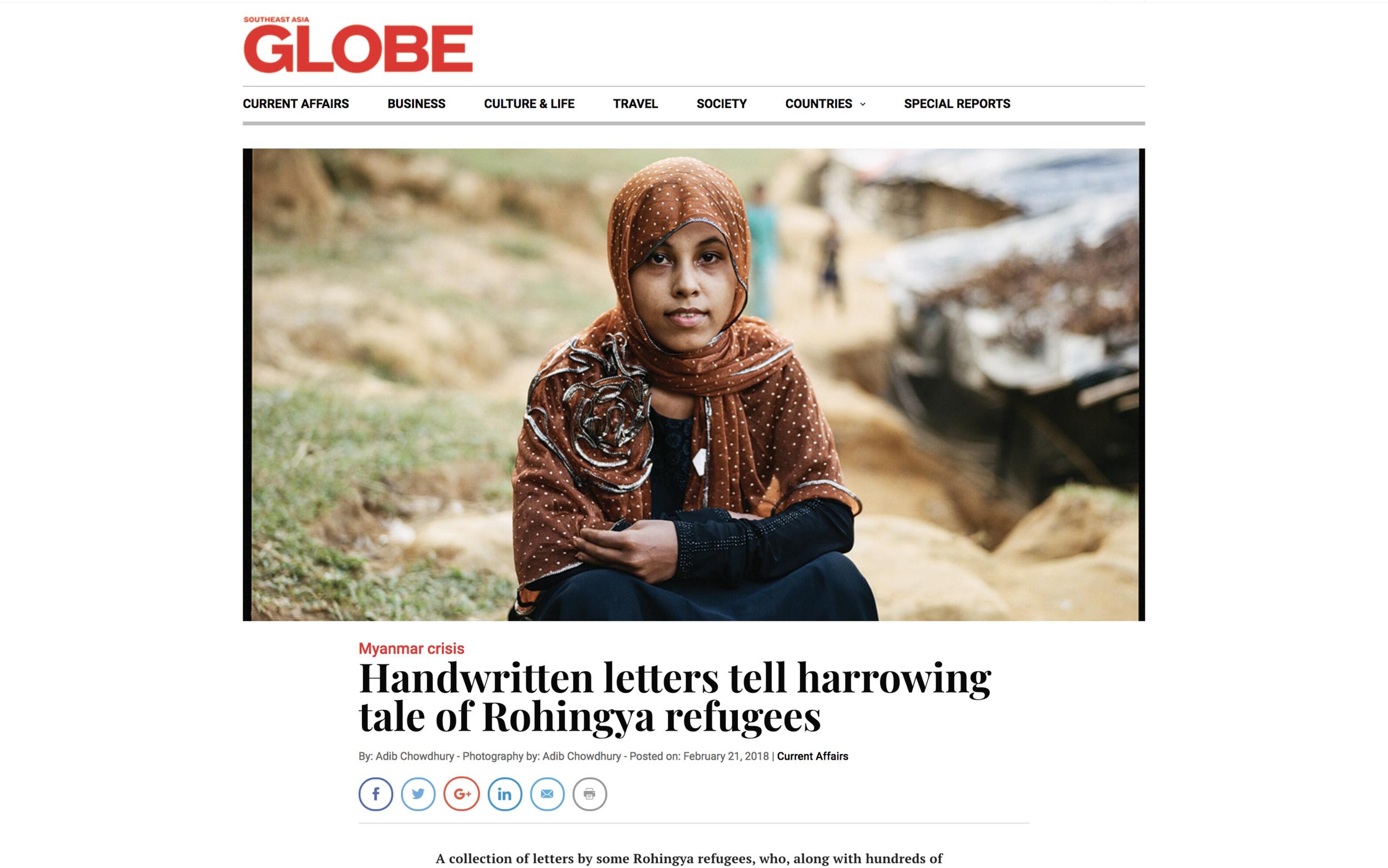 S.East Asia Globe Magazine, March 2018