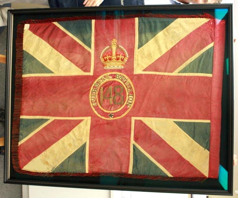 Overseas Framed British Flag