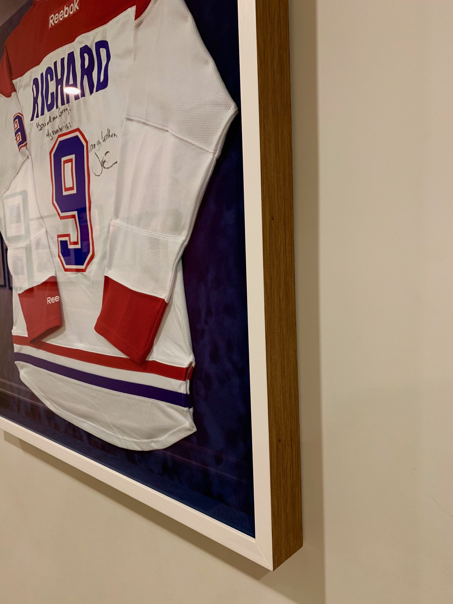 Reebok Framed Jersey - Alternative Angle