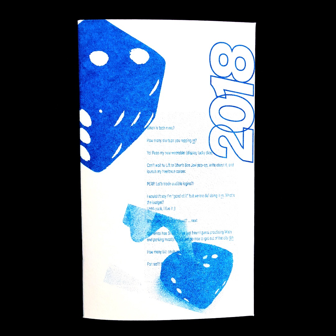Riso Zine for SXSW