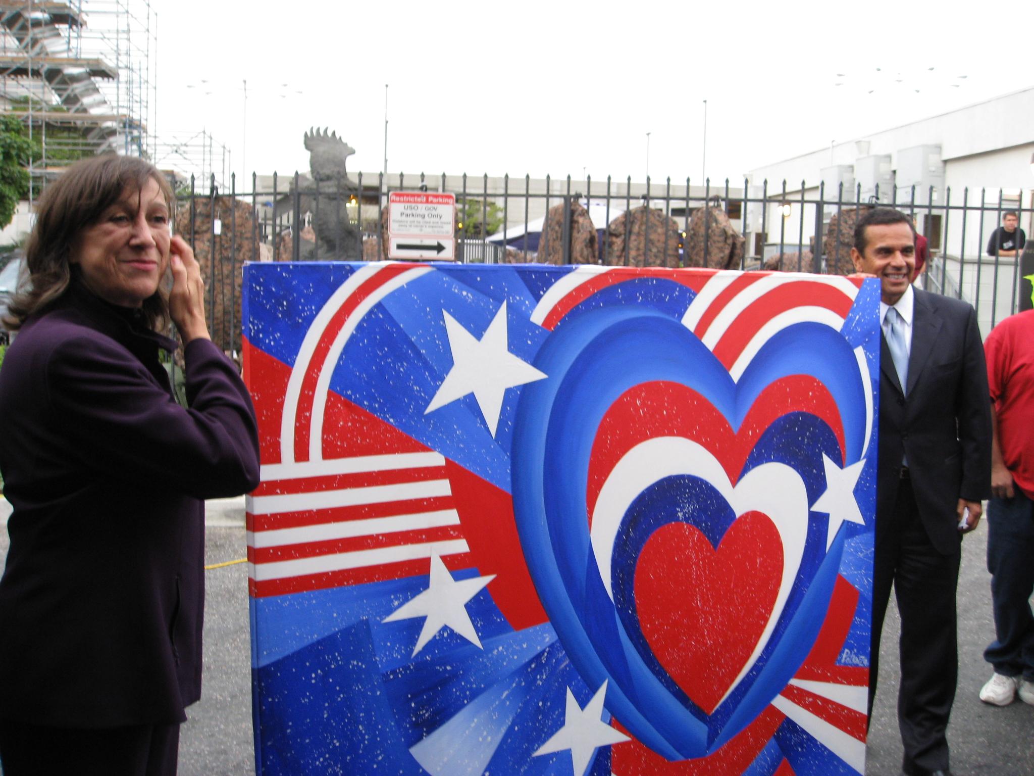 Mayor Villaraigosa, Los Angeles, This American Heart