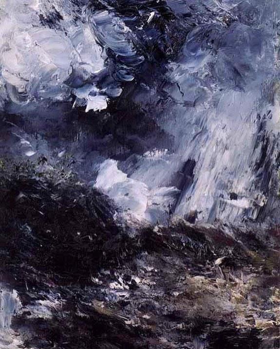 """A. Strindberg, """"Night of Jealousy"""", 1893"""
