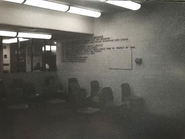 """Standards"", Bary J. Nidorf juvenile detention center, March 2018 #film"