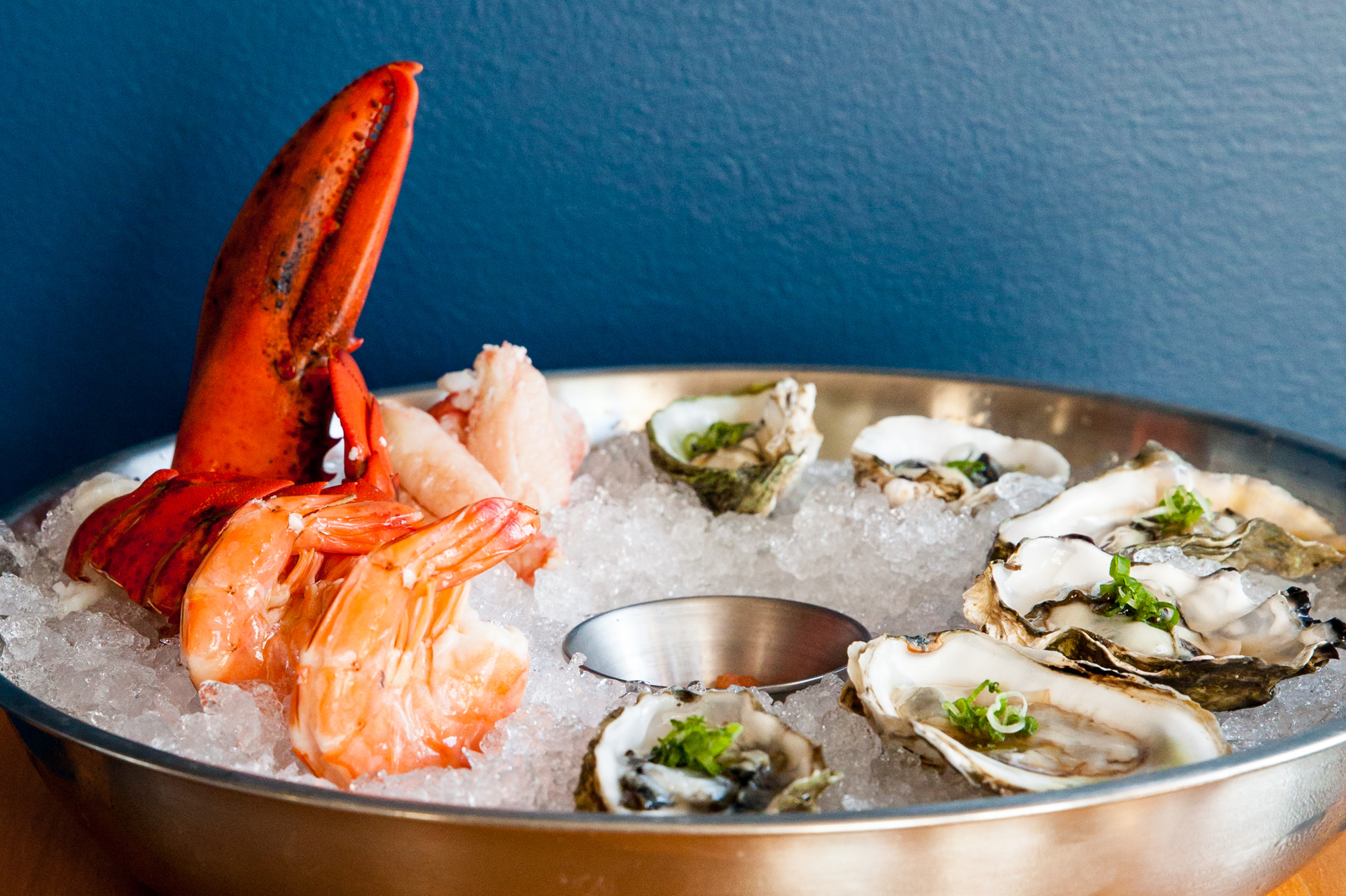 We'll shuck oysters and pour bubbles to toast!