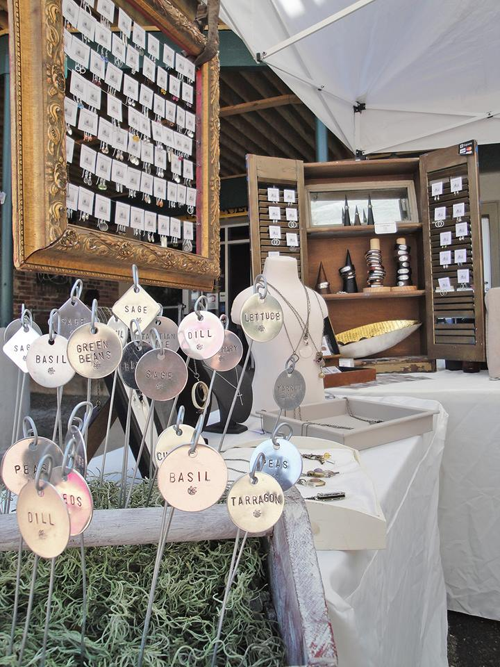 Kimberly Monoco Designs ' booth right in front of Urban Eats