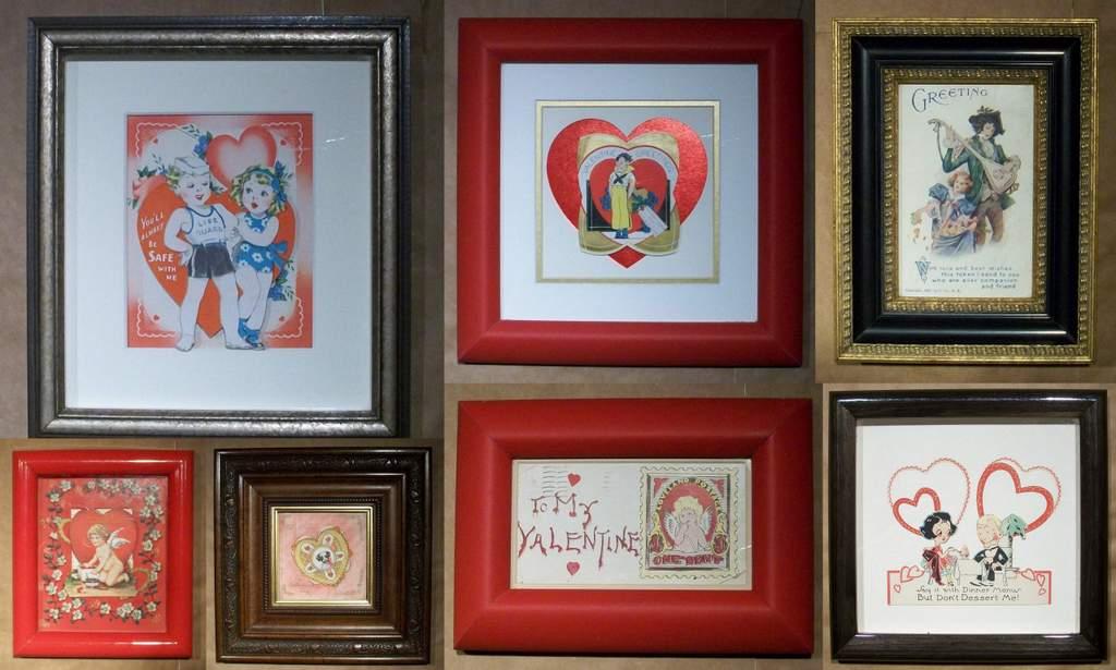 Vintage valentines by Fine Art Services