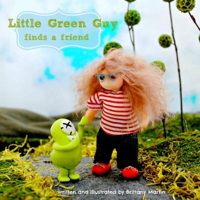 Little Green Guy book