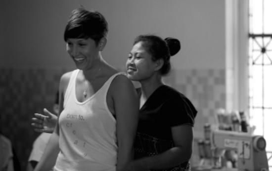Tessa and Ka Naw.
