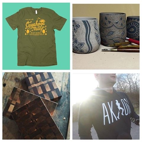 Our makers for this Saturday include The Social Dept., Visions and Vessels, Buckeye Clothing, and Burns Boards.