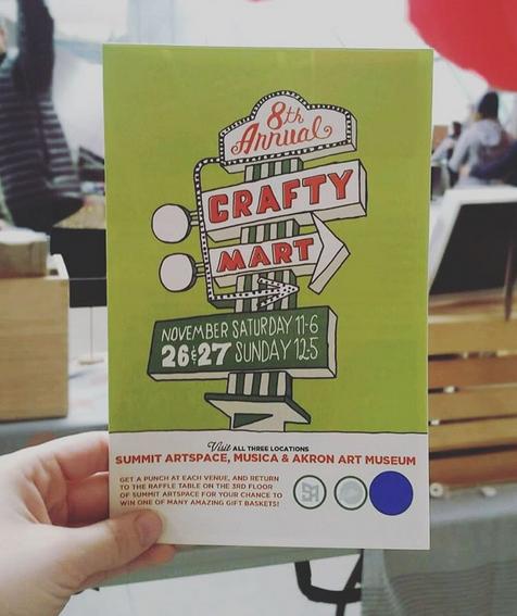 Our event program. Photo: @chapaignpaper