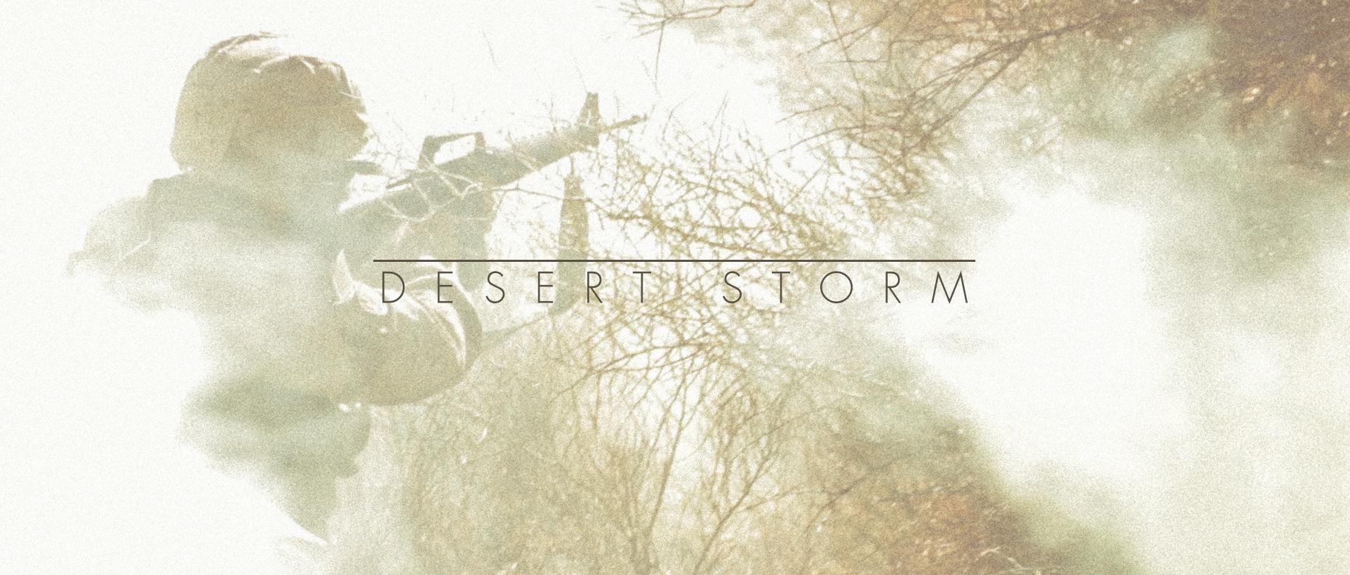 Desert Storm Header