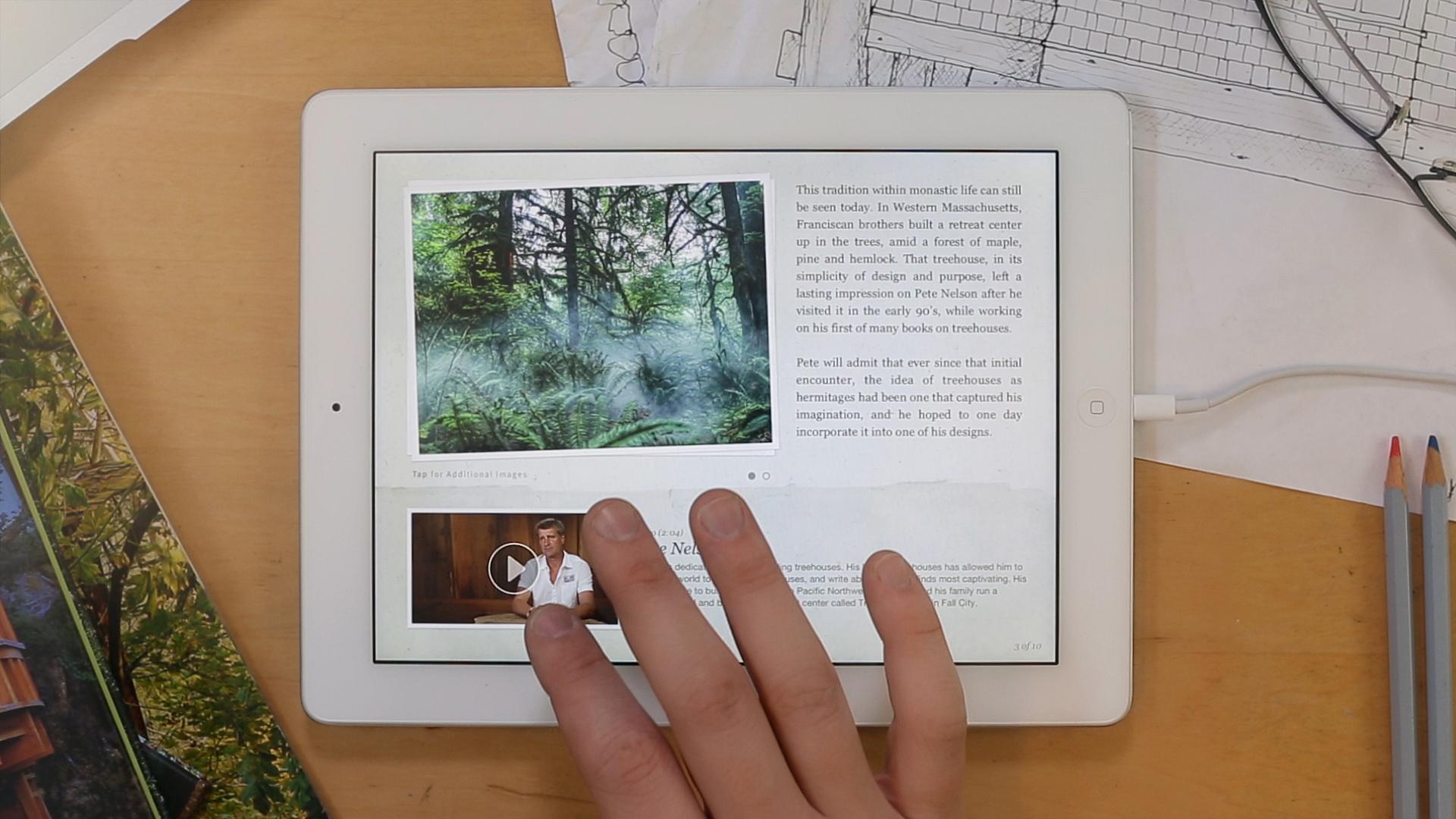 Treehouses App Overhead