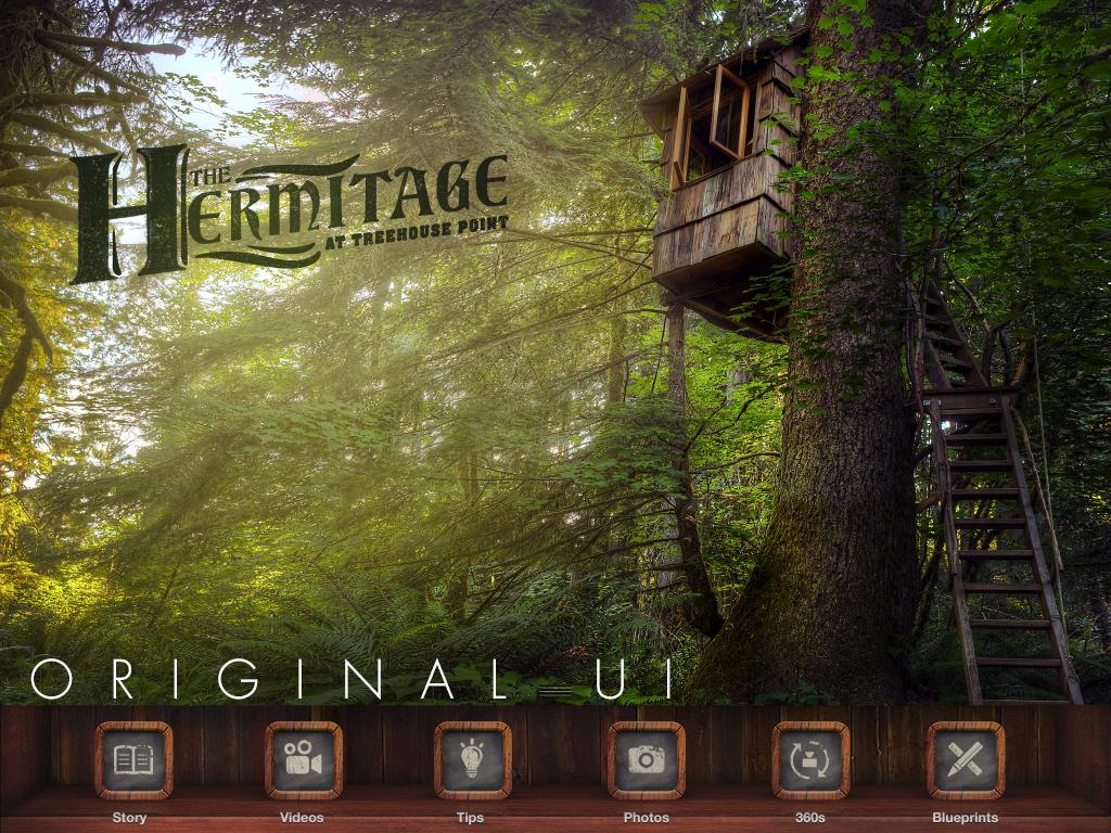 Treehouses App Original User Interface