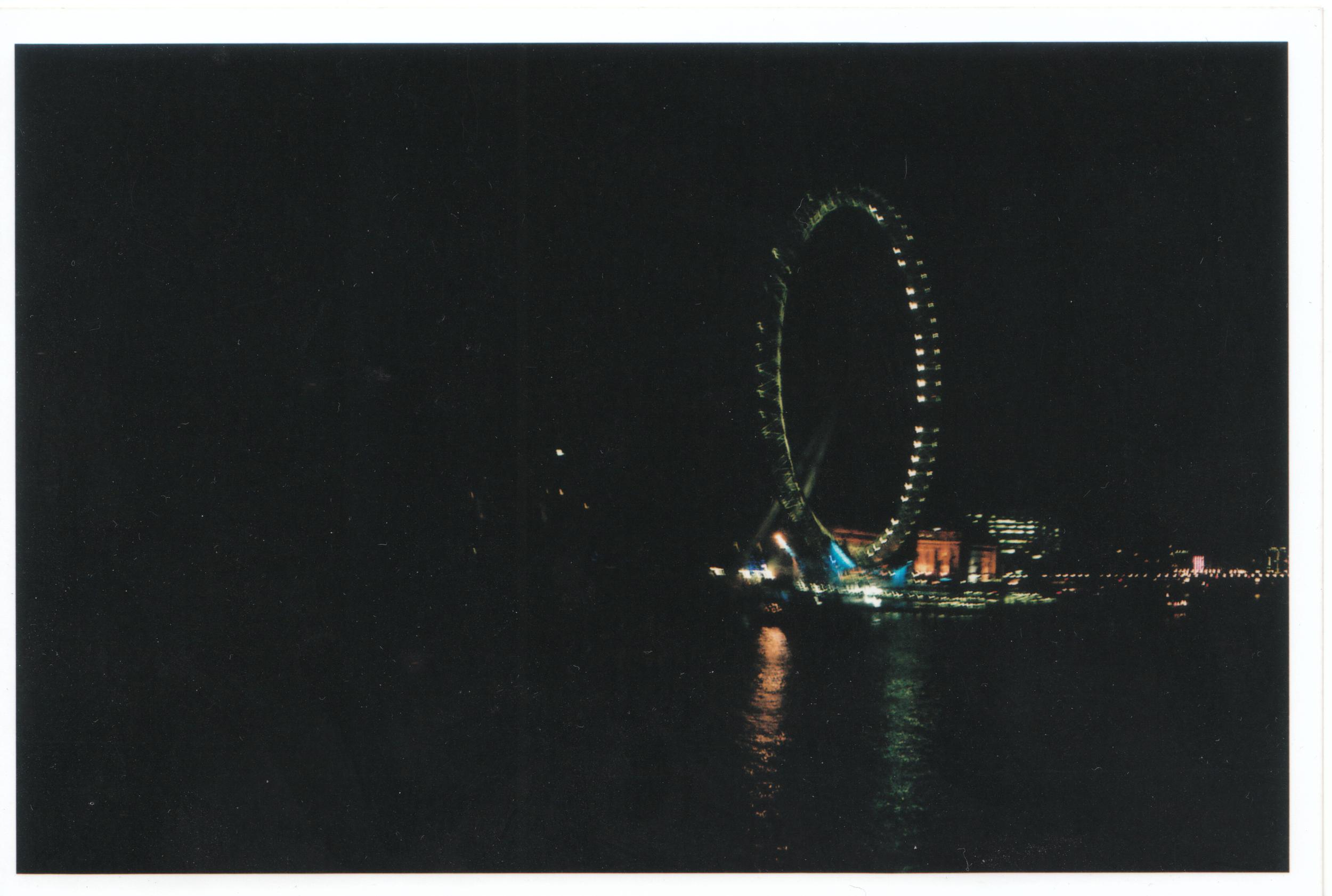 A London Blurry Night