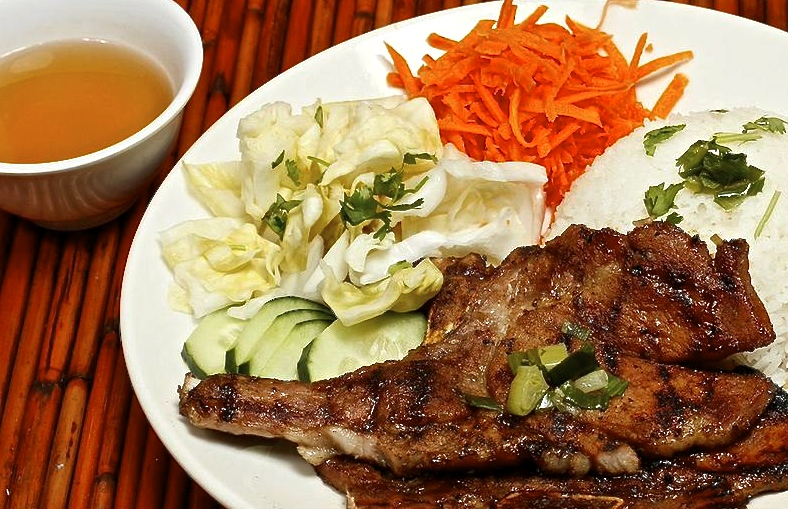 Marinated and Grilled Pork Chops