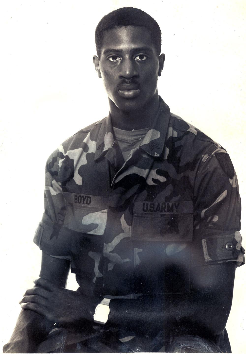 Sergeant Boyd, Age 21