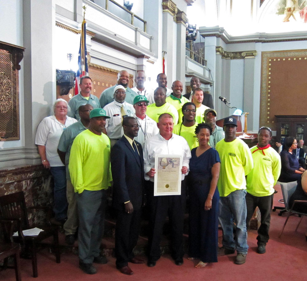 Honoring forestry workers for great service