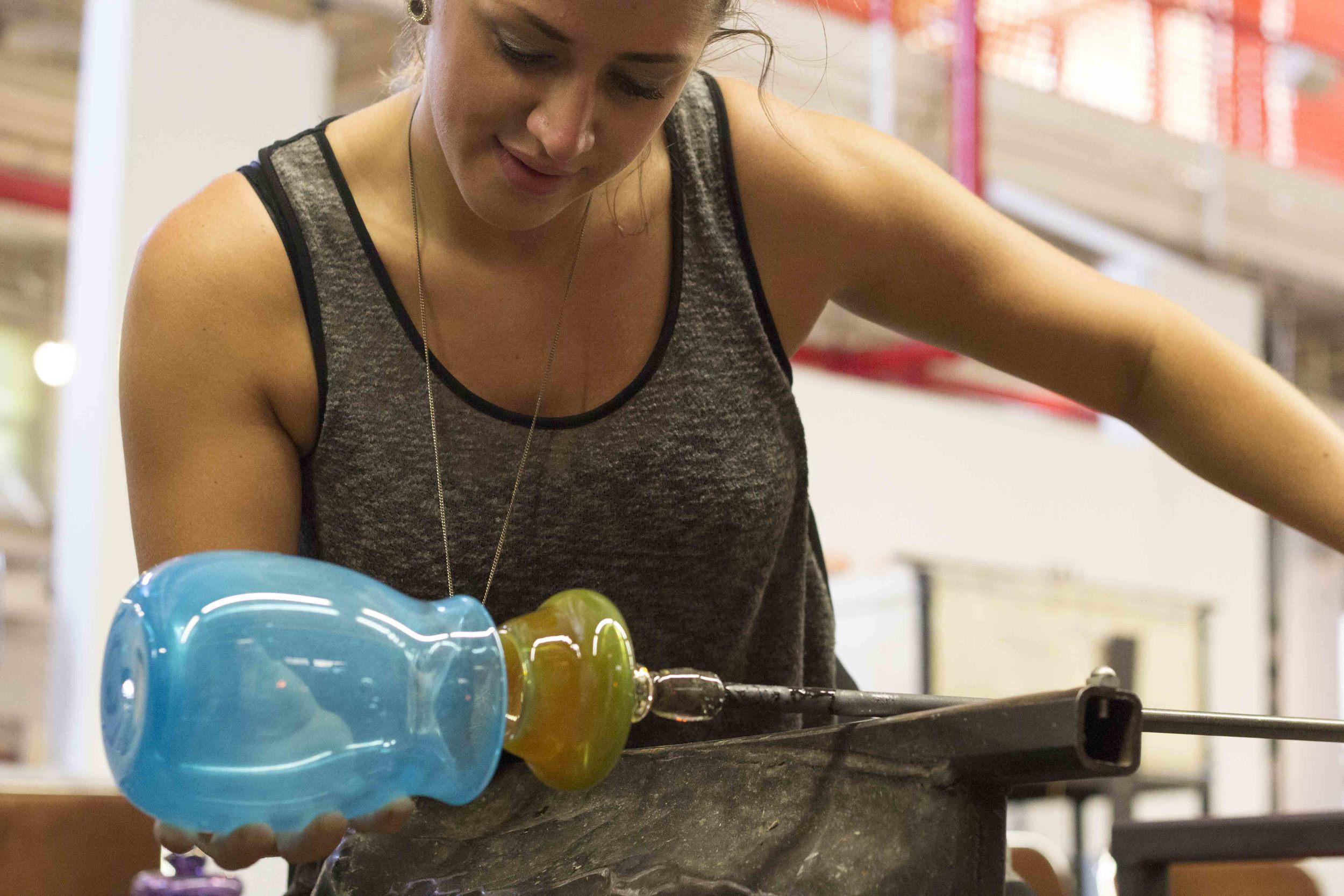 Racahel Masica glass artist