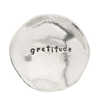 Gratitude Small Pewter Trinket Dish - Amazon