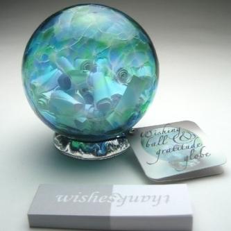 Handblown Gratitude Globe - Amazon