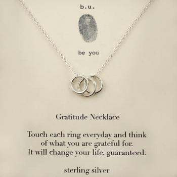 Gratitude Necklace - Giving Tree Gallery