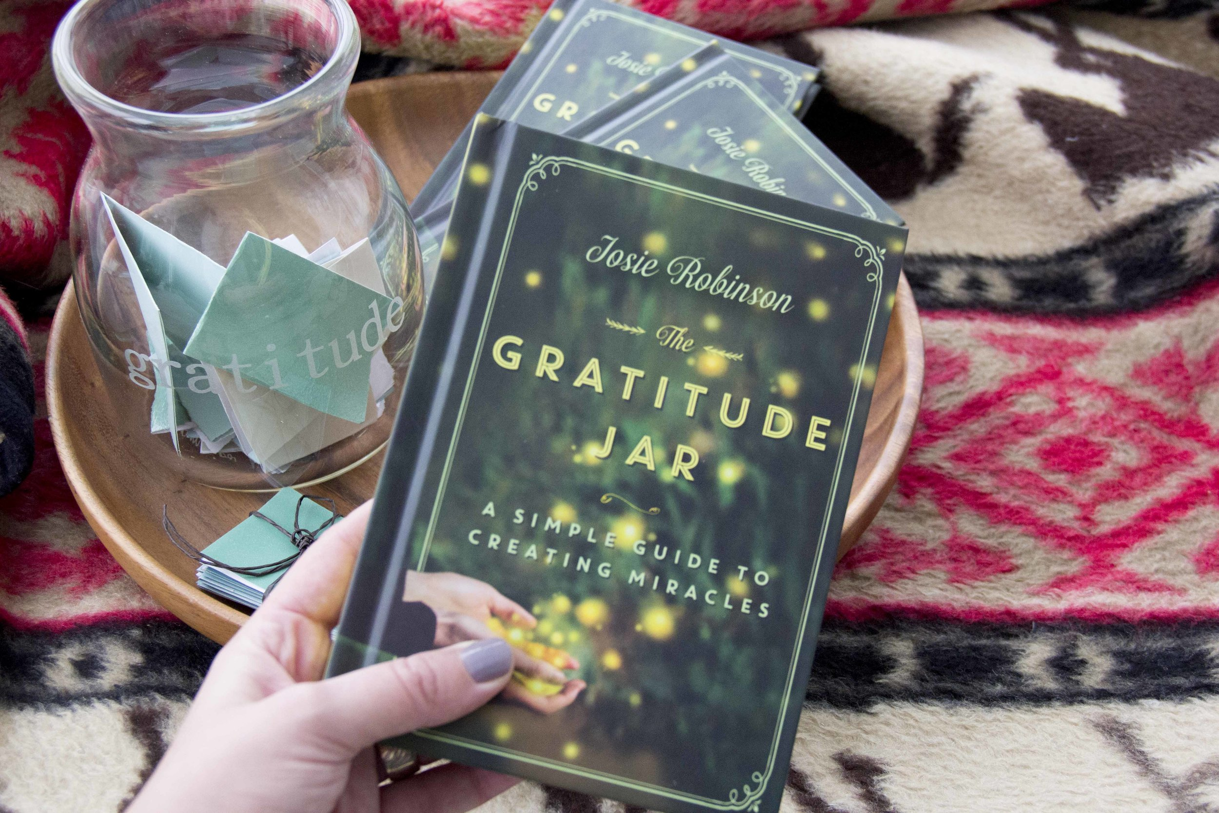 In Chapter 5 of The Gratitude Jar book   I share how I went from totally broke, to financial freedom.