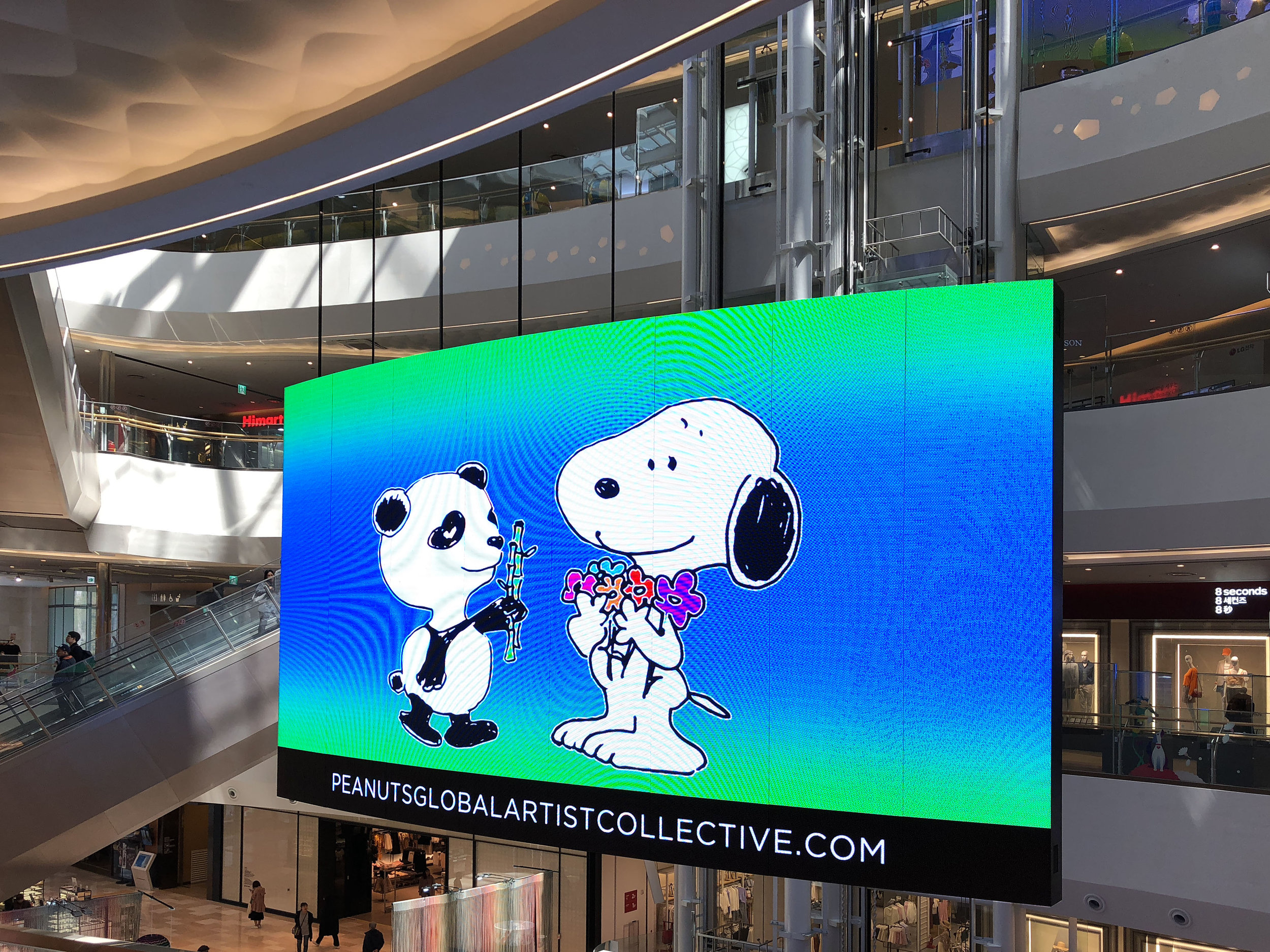 Rob Pruitt x Peanuts Global Artist Collective in Seoul