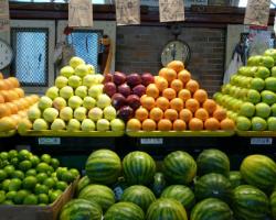 Soulard Farmer's Market in Soulard