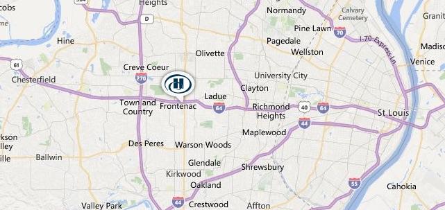 Hilton Frontenac - St. Louis Area
